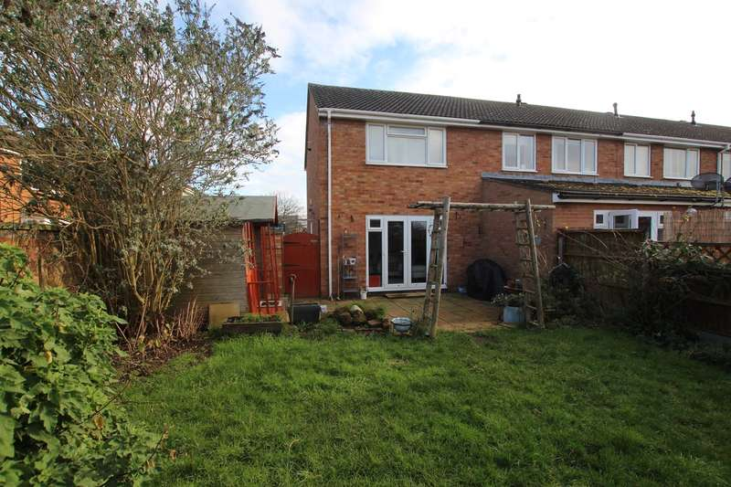 2 Bedrooms End Of Terrace House for sale in Osprey Road, Biggleswade, SG18