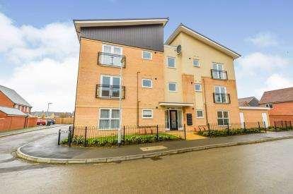 2 Bedrooms Flat for sale in Tavener Drive, Biggleswade, Bedfordshire, England