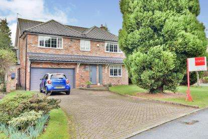 4 Bedrooms Detached House for sale in Rodeheath Close, Wilmslow, Cheshire, Uk