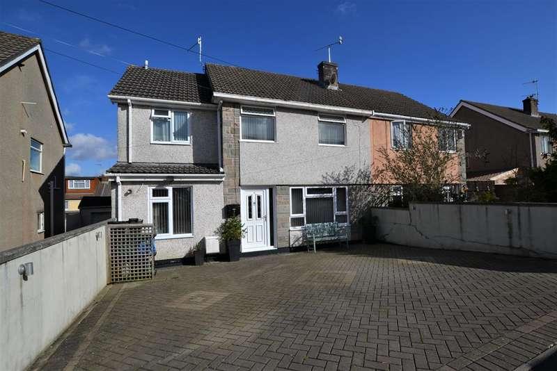 3 Bedrooms Semi Detached House for sale in Kencot Walk, Bristol, BS13 9DU