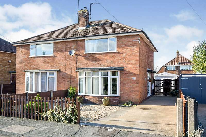 2 Bedrooms Semi Detached House for sale in Alder Close, North Hykeham, Lincoln, Lincolnshire, LN6