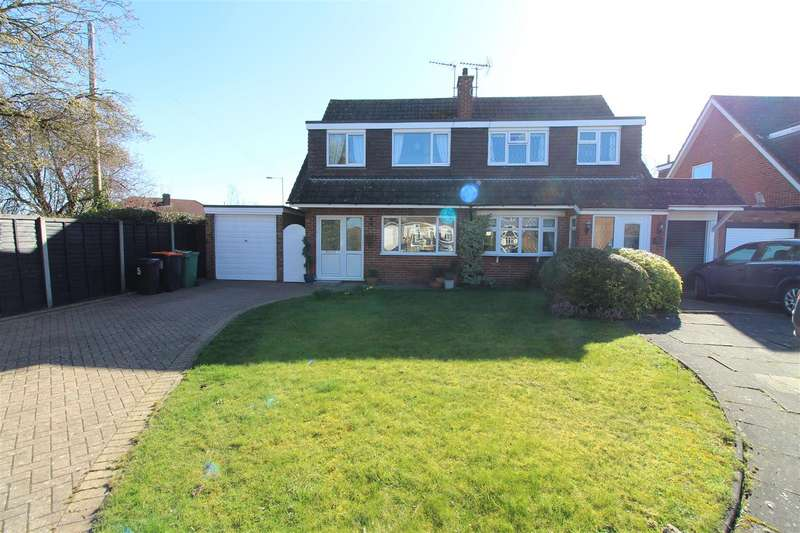 3 Bedrooms Semi Detached House for sale in Bunhill Close, Dunstable