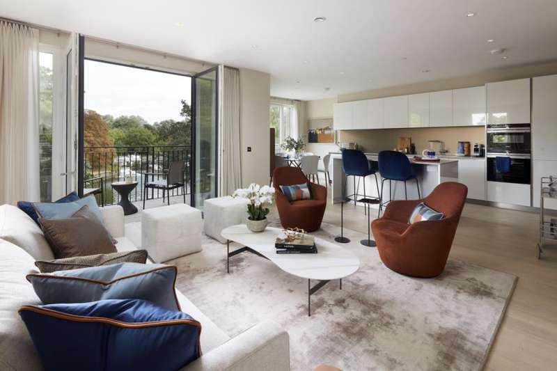 3 Bedrooms Apartment Flat for rent in Broom Road, Teddington, TW11