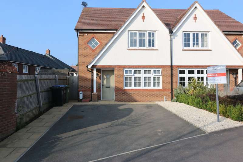 3 Bedrooms Semi Detached House for sale in Glebe Road, Alcester, B49