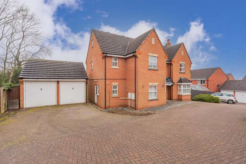6 Bedrooms Detached House for sale in Barons Close, Kirby Muxloe