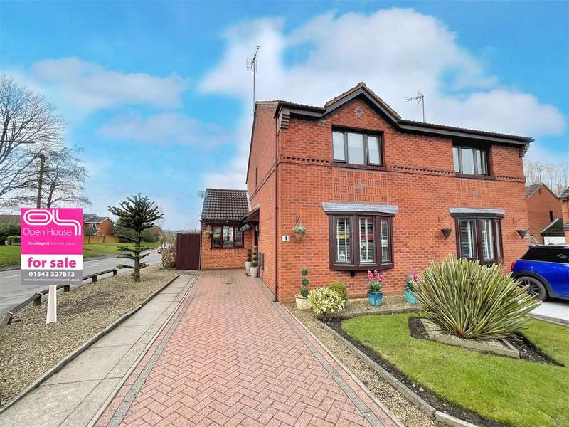 3 Bedrooms Semi Detached House for sale in Levetts Hollow, Cannock