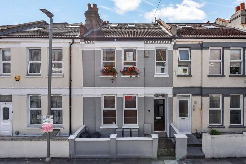 2 Bedrooms Flat for sale in Hoyle Road, London SW17