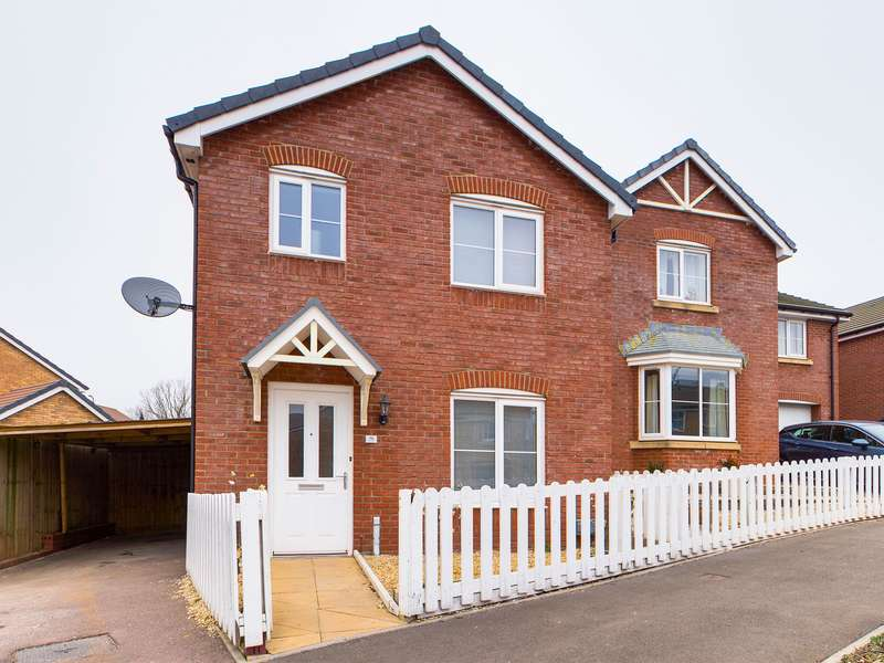 3 Bedrooms Detached House for sale in Cwrt Celyn, St. Dials, Cwmbran