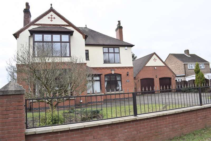 4 Bedrooms Detached House for sale in Burton Road, Midway, Swadlincote