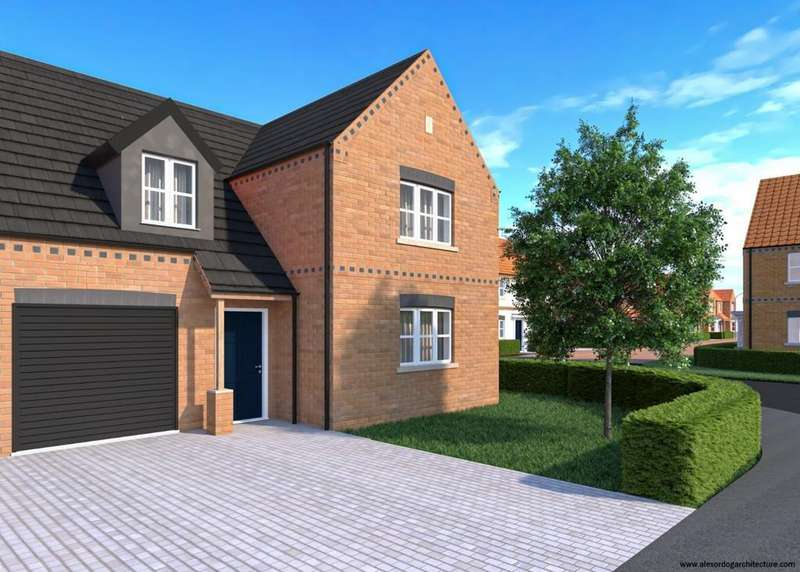 3 Bedrooms Semi Detached House for sale in Plot 2 The Mayo, The Nursery, Swineshead