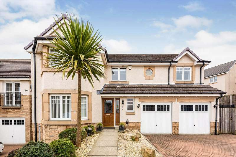 5 Bedrooms Detached House for sale in Car Craig View, Burntisland, Fife, KY3