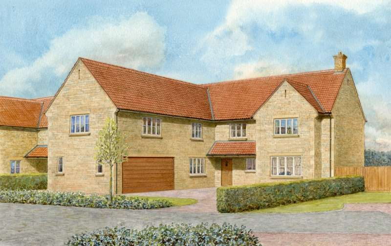 5 Bedrooms Detached House for sale in Plot 4 - The Walnuts, The Wood Yard, Colsterworth