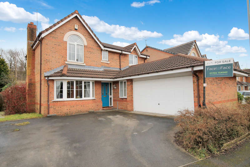 4 Bedrooms Detached House for sale in Riverstone Bridge, Littleborough