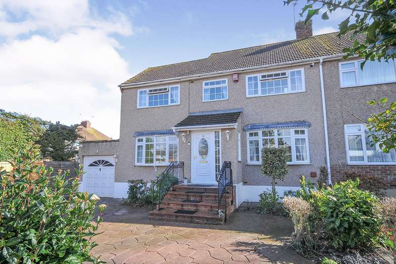 4 Bedrooms Semi Detached House for sale in Pine Close, Swanley, Kent, BR8
