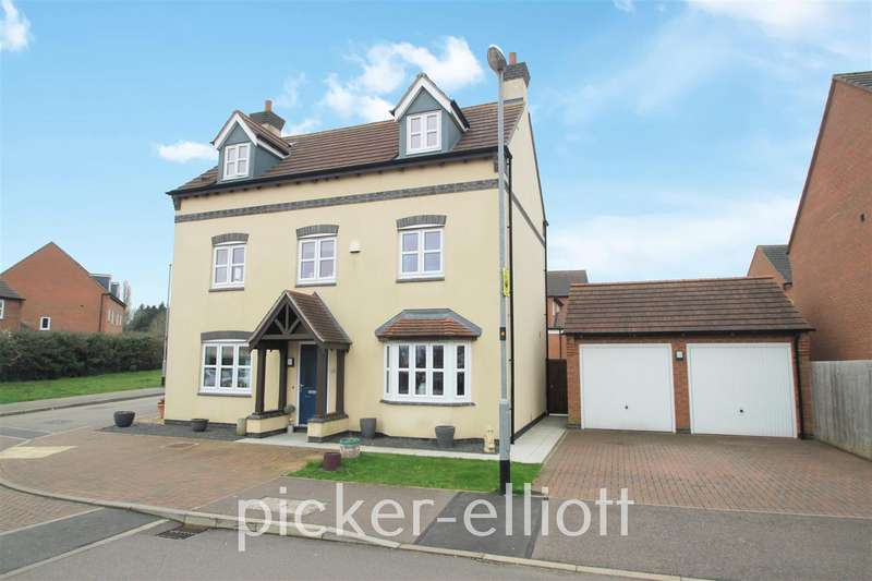 5 Bedrooms Detached House for sale in Olympic Way, Hinckley