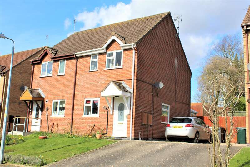 2 Bedrooms Semi Detached House for sale in Foxglove Close , Spilsby, PE23 5NJ