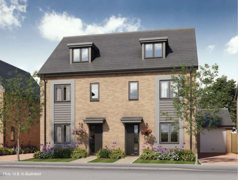 3 Bedrooms End Of Terrace House for sale in Bengrove, Wolverton Mill, Milton Keynes, MK12