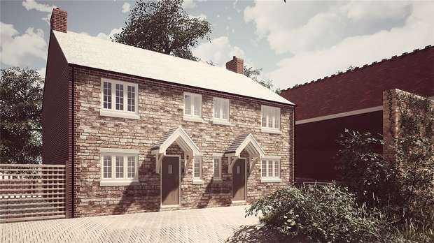 3 Bedrooms Semi Detached House for sale in Church Road, Stevington, Bedford