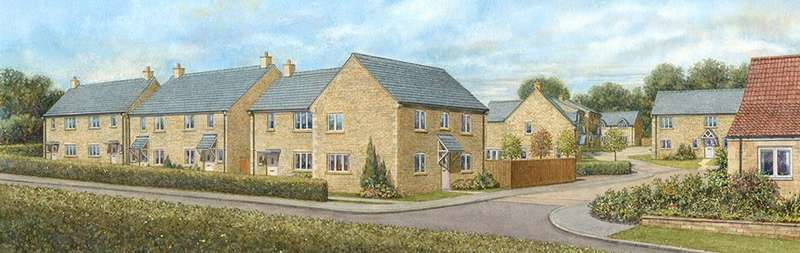 3 Bedrooms Semi Detached House for sale in Tinwell Heights, Tinwell, Stamford