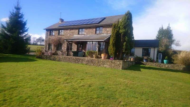4 Bedrooms Property for sale in Coed-y-Prior Farm, Llantrisant, Usk, Monmouthshire, NP15 1LG