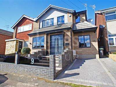 4 Bedrooms Semi Detached House for sale in Hoecroft, Nazeing, Waltham Abbey