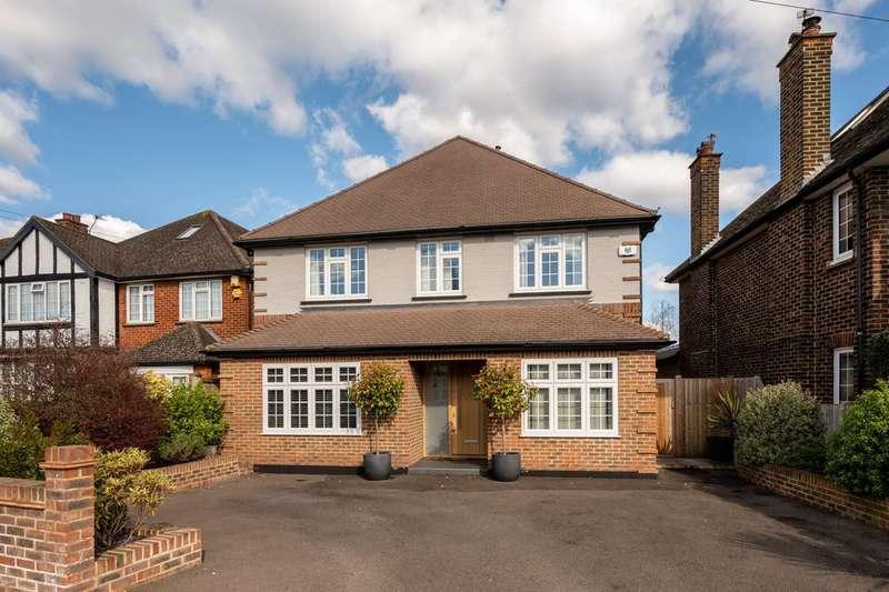 5 Bedrooms Detached House for sale in Linkside, New Malden, KT3