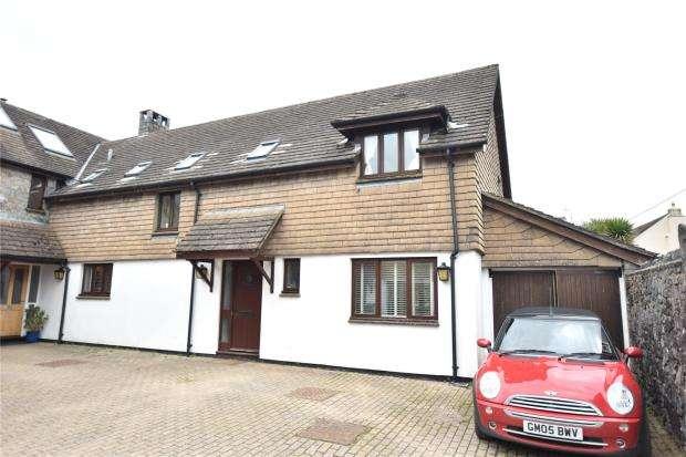 4 Bedrooms Semi Detached House for sale in Borough Court, Broadhempston, Totnes, Devon