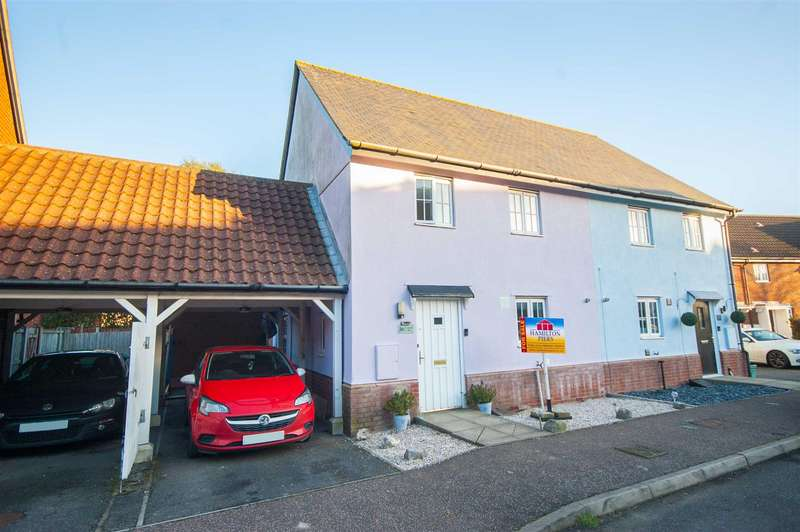 3 Bedrooms Semi Detached House for sale in Cowdrie Way, Chancellor Park, Chelmsford, CM2