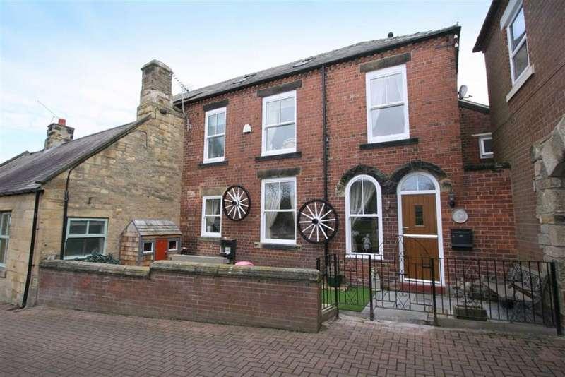 3 Bedrooms Semi Detached House for sale in Bertrams Yard, Earsdon, Tyne And Wear, NE25