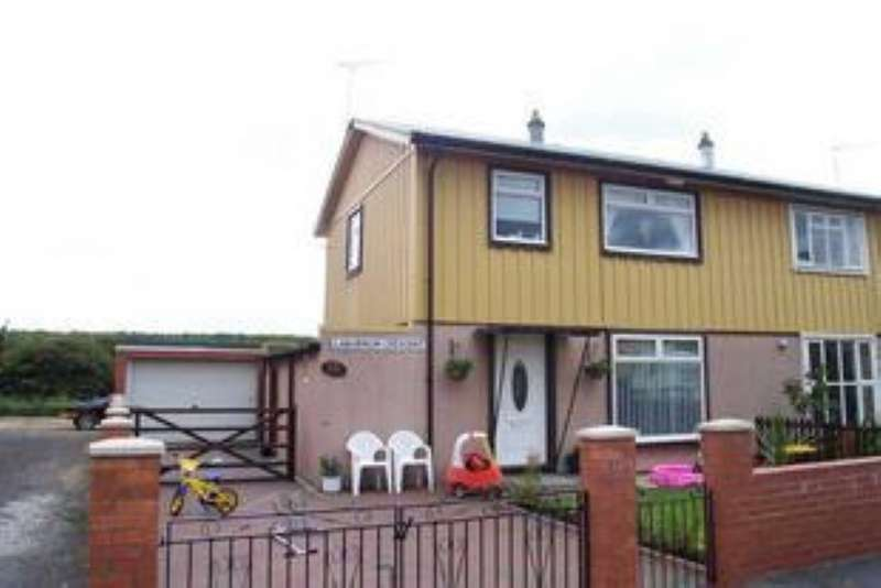 3 Bedrooms Semi Detached House for sale in 32 Laburnum Crescent, Trimdon Station, County Durham