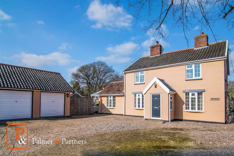 4 Bedrooms Detached House for sale in New Road, Elmswell, Bury St. Edmunds, Suffolk