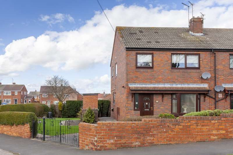 3 Bedrooms Semi Detached House for sale in School Avenue, Choppington, Northumberland, NE62