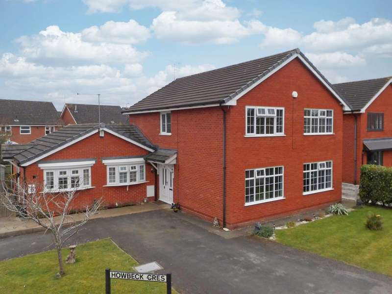 5 Bedrooms Property for sale in Howbeck Crescent, Wybunbury, Nantwich