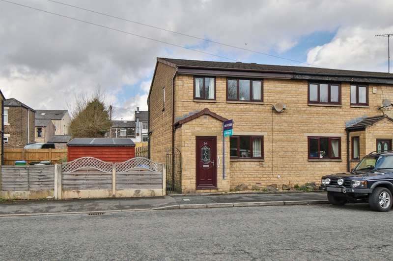 3 Bedrooms Semi Detached House for sale in Peel Street, Littleborough, OL15 8AQ