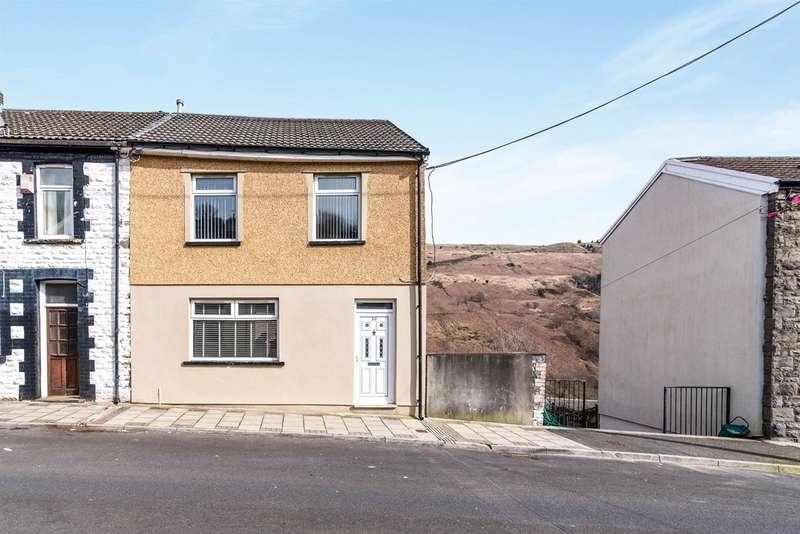 3 Bedrooms Semi Detached House for sale in Hendrefadog Street, Tylorstown, Ferndale