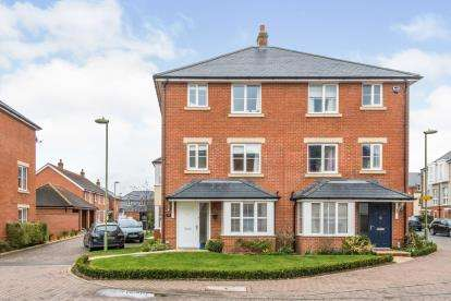 4 Bedrooms Semi Detached House for sale in Romsey, Hampshire