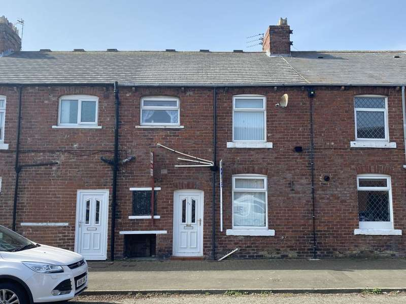 3 Bedrooms Terraced House for sale in Laburnum Terrace, Ashington, NE63 0AL