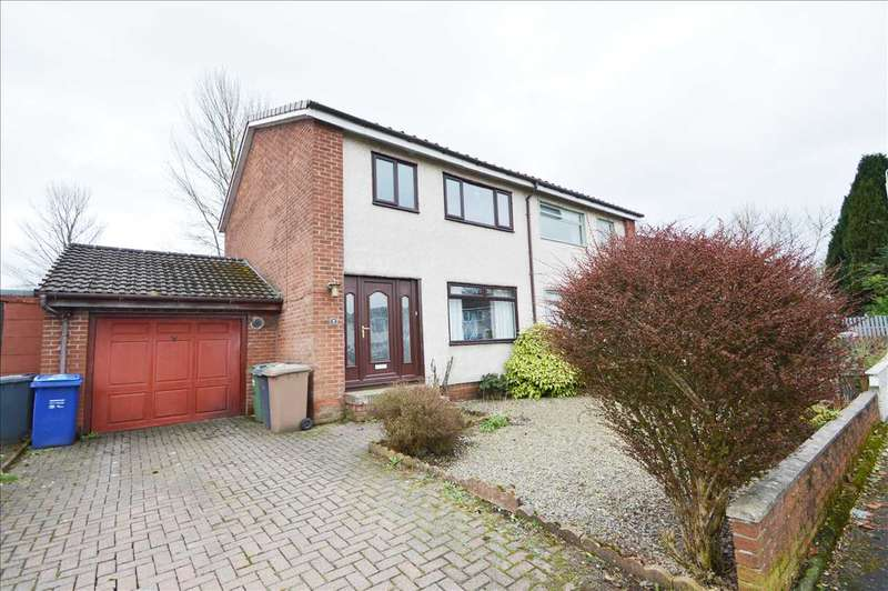 3 Bedrooms Semi Detached House for sale in Walpole Place, Johnstone, Johnstone