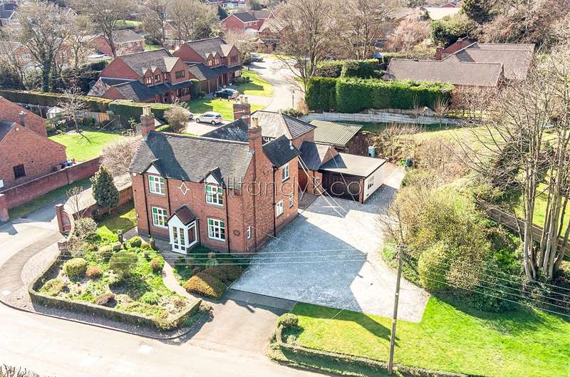 3 Bedrooms Detached House for sale in Rugeley Road, Burntwood, WS7