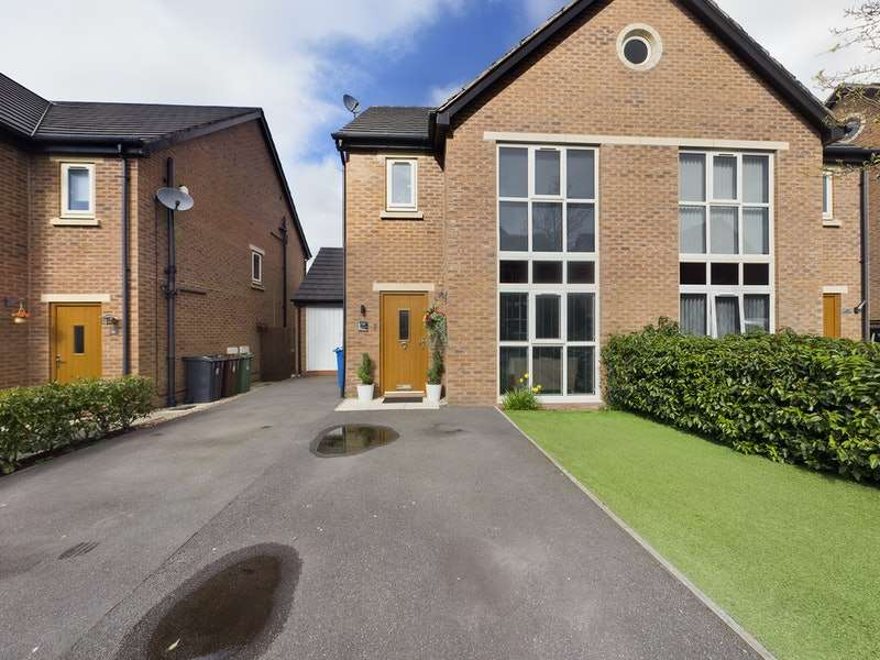 4 Bedrooms Semi Detached House for sale in Sandcross Close, Wigan, Greater Manchester, WN5