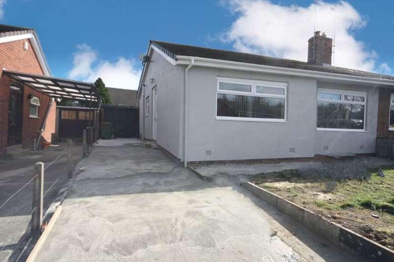 2 Bedrooms Semi Detached Bungalow for sale in Morrison Road, Guisborough, TS14