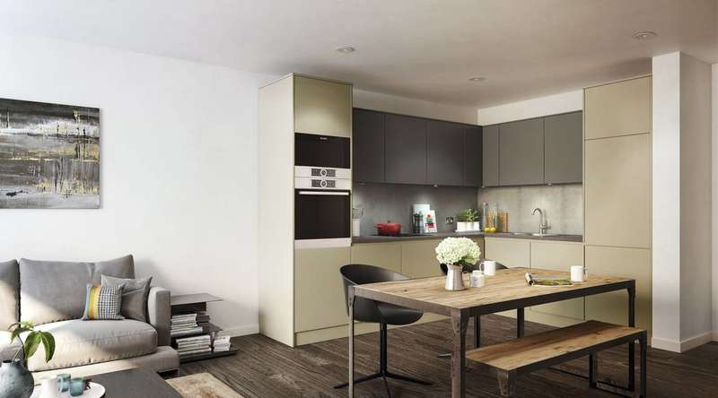 2 Bedrooms Flat for sale in Deptford Landings, Deptford, SE8