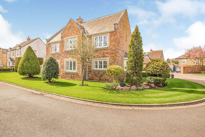 4 Bedrooms Detached House for sale in Wells Green, Barton, Richmond, North Yorkshire, DL10