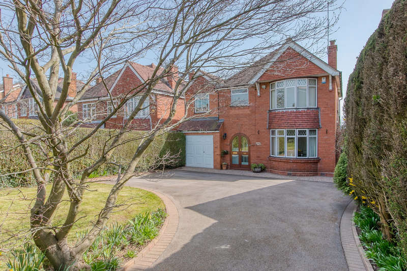 4 Bedrooms Detached House for sale in Old Birmingham Road, Marlbrook, Bromsgrove, B60 1DH