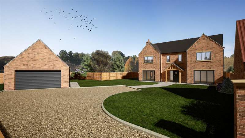 5 Bedrooms Detached House for sale in The Rowans, Orchard Way, Stow, Lincoln