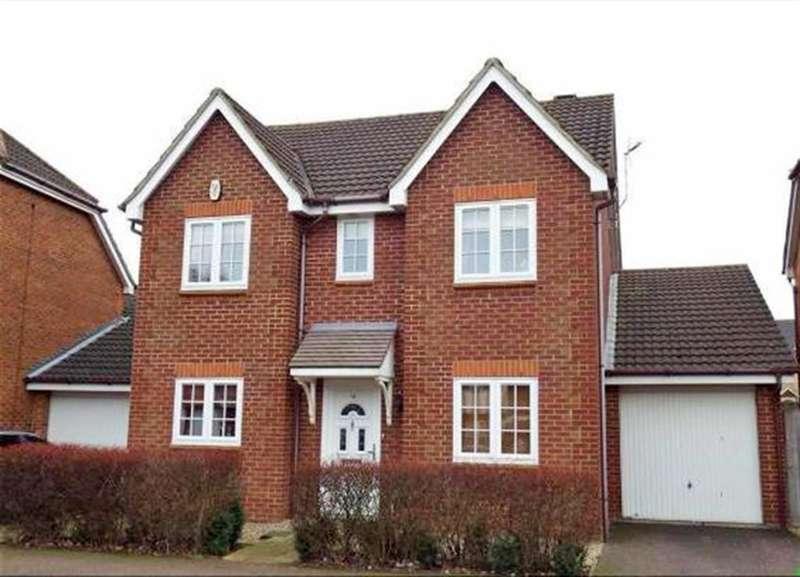 4 Bedrooms Detached House for sale in Lomond Way, Stevenage, SG1 6BT