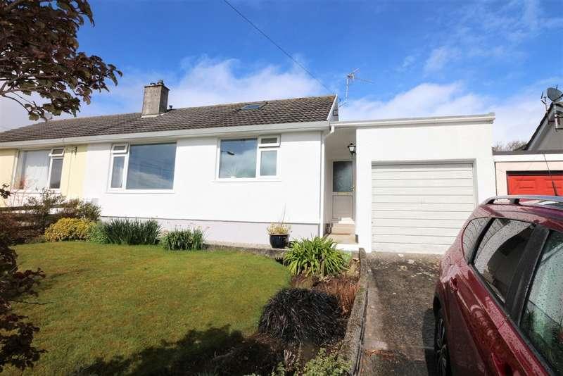3 Bedrooms Semi Detached Bungalow for sale in Trewarton Road, Penryn