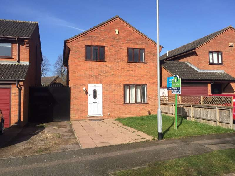 4 Bedrooms Detached House for sale in Walcourt Road, Kempston, Bedford, Bedfordshire, MK42