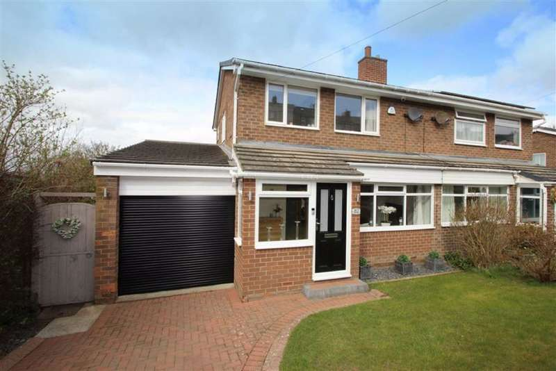 3 Bedrooms Semi Detached House for sale in Western Avenue, Prudhoe, NE42