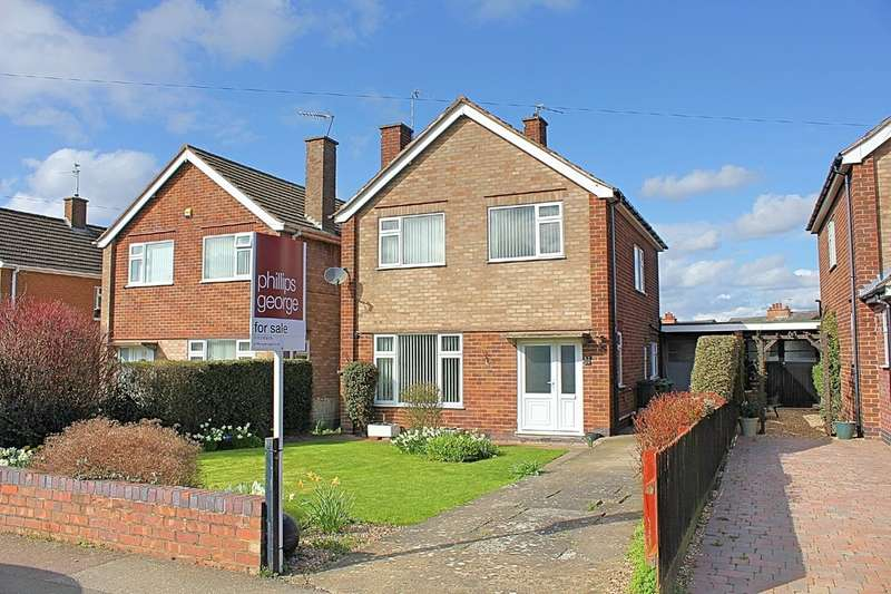 3 Bedrooms Detached House for sale in Thirlmere Road, Wigston, Leicester